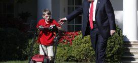 Un niño de 11 años Poda el Rosedal de la Casa Blanca