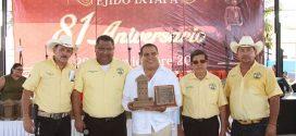 Ejido Ixtapa Reconoce Desempeño del Alcalde Arturo Dávalos