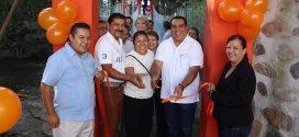 Inaugura Alcalde Rehabilitación de Puente Colgante del río Cuale