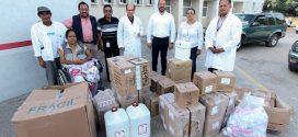 Entrega Ayuntamiento Material de Apoyo al Hospital Regional