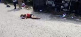 12 muertos al Volcarse Autobús Turístico en México