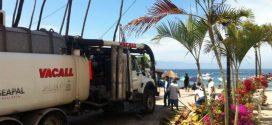 Intensifica Seapal Trabajos Preventivos en Franja Turística