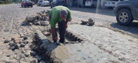 Intensifican Trabajos de Bacheo y Limpieza de Áreas Públicas