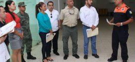 Supervisan Autoridades los Refugios Temporales