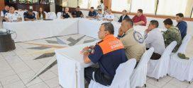 Autoridades Estrechan Coordinación en Materia de Seguridad