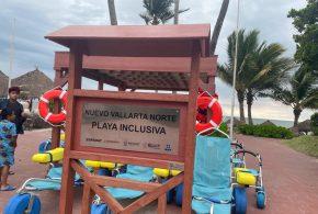Playas de Nuevo Vallarta ya Cuentan con Mobiliario Inclusivo