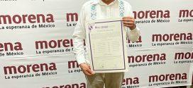 Recibe Luis Michel Constancia como Alcalde Electo